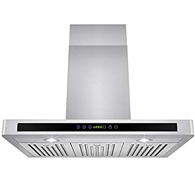 "GOLDEN VANTAGE New 30"" European Style Wall Mount Stainless Steel Range Hood Vent Touch Sensor Control"