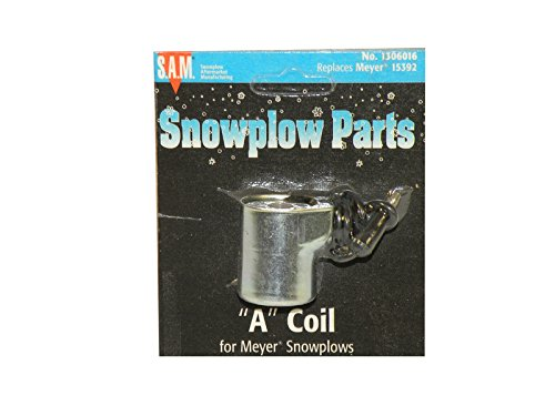 A Coil For Meyer Snow Plows - Black Wire by SAM