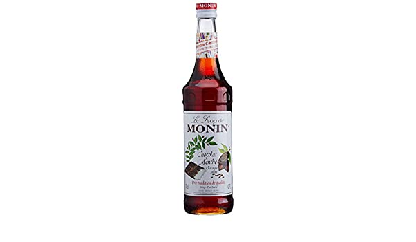 Monin Premium Chocolate Mint Syrup 700 ml: Amazon.es: Alimentación y bebidas