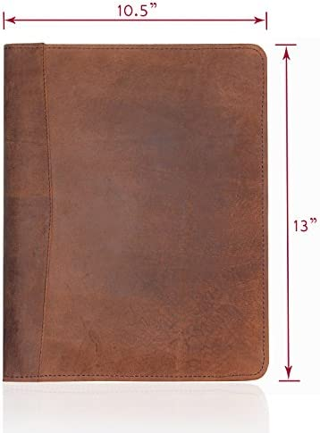 LEATHER PORTFOLIO Professional Resume Padfolio product image