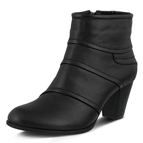 Boot Women's Black Spring Emelda Step aOqxC47