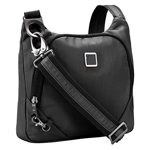 Lewis N Clark Antitheft Crossbody Purse + Sling Bag Men Travel Or Work