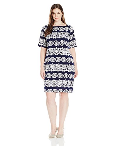 Tiana-B-Womens-Plus-Size-Puff-Printed-Short-Sleeve-with-Exposed-Zipper