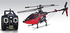 "Syma F1 Fiery Dragon 2.4G 3CH Single-Blade 21"" RC Amor Helicopter with LCD Transimitter - Red-Black"