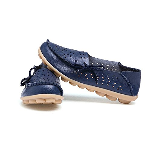 Planos Low Ons Oxfords de de E Ons Guisantes de de Top Gran Zapatos Mujer Zapatos Slip Enfermera Zapatos Mocasines Slip Casual Tamaño Verano wPMZgAqq4