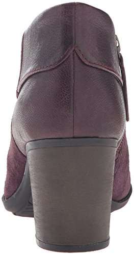 Clarks Womens Enfield Canal Boot Aubergine Suede