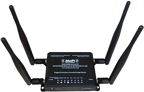 MOFI4500-4GXeLTE-SIM4 4G/LTE Router AT&T T-Mobile Verizon Embedded SIM with Band 12 by MOFINETWORK