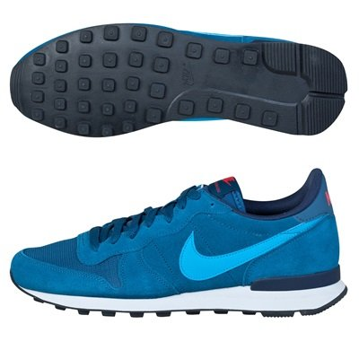 fantastic savings cheap for sale huge discount Nike Internationalist Leather Trainers Blue: Amazon.co.uk ...
