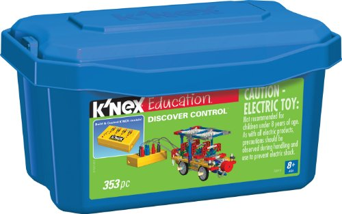 K'NEX Education – Discover Control Set – 353 Pieces – Ages 8+ Engineering Educational - Coasters Programming