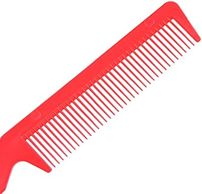 XYCC - Peine para afeitadora de pelo con 2 cuchillas de afeitar, herramienta para quitar barberos, color rojo ...