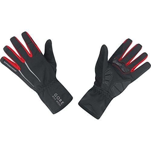 GORE BIKE Wear Herren Rennradhandschuhe, GORE WINDSTOPPER, POWER WS Gloves, Größe 9, Schwarz, GWPOWE