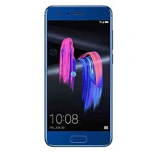 Huawei Honor 9 6GB RAM 128GB ROM 3D Curved Glass OTA Update LTE Smartphone Octa Core 2.3GHz 5.1 Inch 19201080 3200mAh 20MP (Blue)