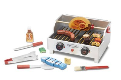 LearningLAB Rotisserie and Grill Barbecue Play Set
