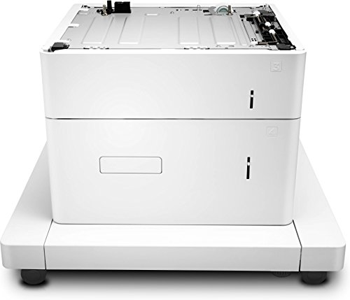 Printer Stand Laserjet Hp (HP J8J92A Paper Feeder and Stand - Printer Base with Media Feeder - 2550 Sheets in 2 Tray(s) - for Laserjet Enterprise MFP M633, Laserjet Managed MFP E62555)