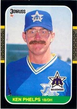 Amazoncom 1987 Donruss Baseball Card 317 Ken Phelps Mint