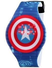 """Marvel The Avengers CTA3119""""Capitán América"""" - Reloj de pantalla digital para niños"""
