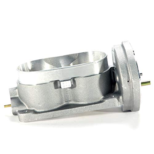 BBK 1763 Twin 62mm Throttle Body - High Flow Power Plus Series for Ford Mustang GT 3V ()