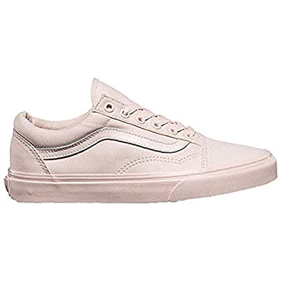 049d7163f42483 Image Unavailable. Image not available for. Color  Vans Mono Canvas Old  Skool Peach Blush Sneakers ...