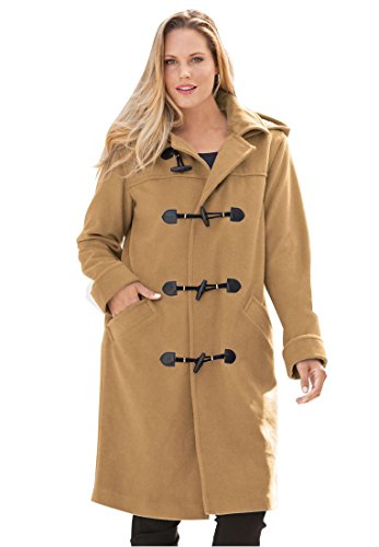 Jessica-London-Plus-Size-Hooded-Toggle-Coat