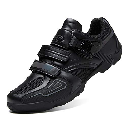 Gogodoing Cycling Shoes Mens Womens Indoor Bike Shoes no Cleats Wearresistant Comfortable with Fast Rotating Shoelace…