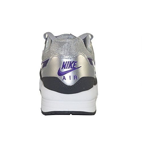 Nike Air Max Light Schuhe 354051 Leder Neu Silber