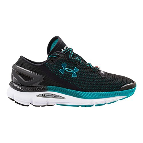 Under Armour Women s UA Speedform Gemini 2.1 Zapatillas de Running Black/white/tahitian Teal