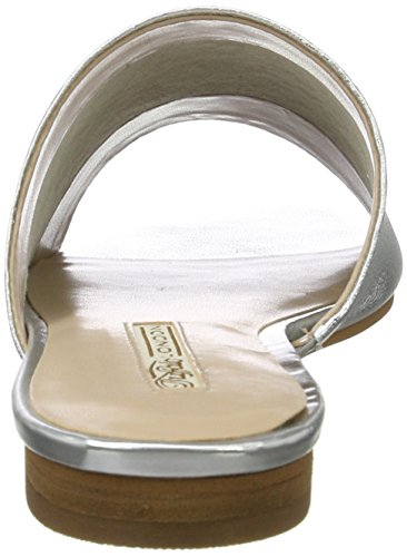Argento Ciabatte silver 184516 Donna Buffalo London qE7InP