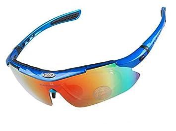 KK-DEPORTES KKgud Ciclismo Wrap Correr Deportes al aire libre gafas de sol multi-