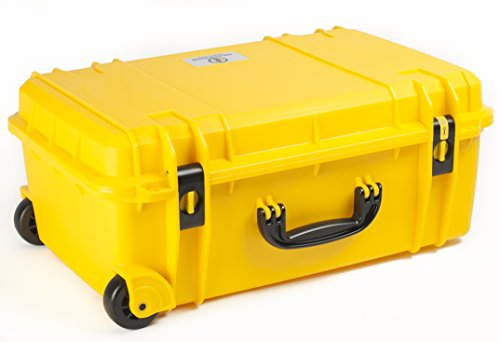 Seahorse SE920 Protective Wheeled Case with Foam (Yellow)