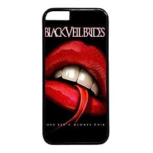 iCustomonline Black Veil Brides Hard Case Fits PC Black Cover Back for iPhone 6 (4.7 inch)