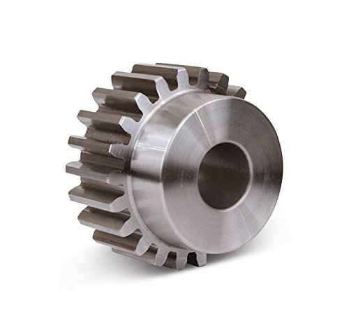Boston Gear ND11B-1/2 Spur Gear, 14.5 Pressure Angle, Steel, Inch, 12 Pitch, 0.500'' Bore, 1.167'' OD, 0.750'' Face Width, 11 Teeth by Boston Gear