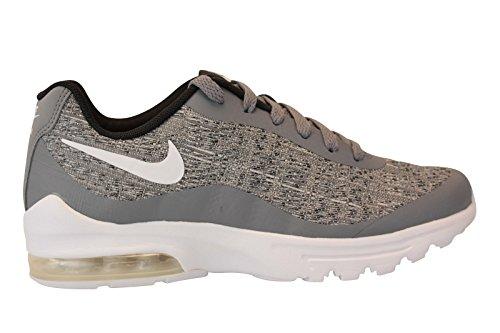 - Nike Women's Air Max Invigor Woven Running Shoe, Cool Grey/White-Black, 8