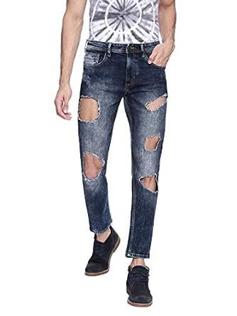Adamo London Dark Blue Jeans For Men-30