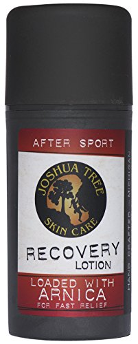 Joshua Tree Skin Care After Sport Recovery Lotion Loaded with Organic Arnica, 4 Ounce