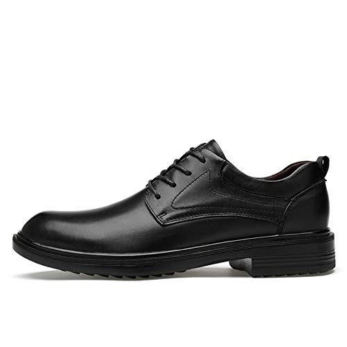 Black Scarpe Fleece Primavera Smooth Black Inside Uomo estate smooth 2018 Da Suede Convenziona Con A Coccodrillo Grandi Le Faux Low Stringate Oxford Motivo Top Formali Dimensioni Di Confortevole Business SxqU7U
