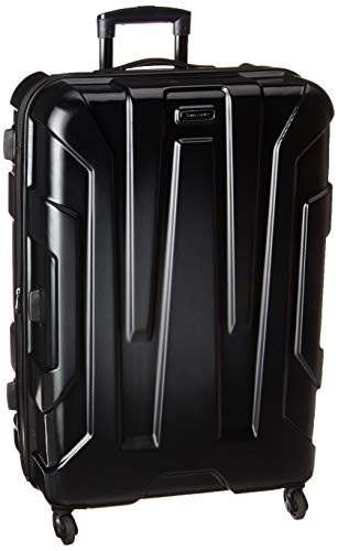 Samsonite Centric Hardside Luggage, Black, Checked-Large (Luggage 60 Linear Inches)