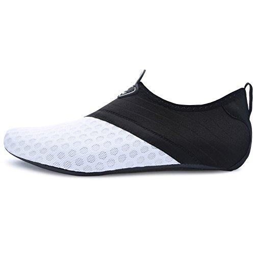 Dive Yoga Beach Shoes L Barefoot Run Surf RUN Dot Shoes Water white Swim for Unisex Skin CFOwz