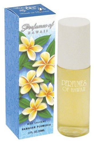 Perfumes of Hawaii Cologne 2 oz. Bottle Plumeria