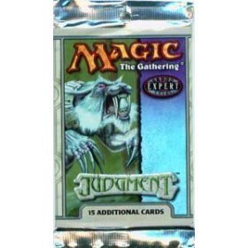 - Magic the Gathering MTG Judgment Sealed Booster Pack (Out of Print)