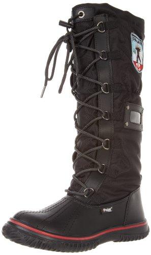 Pajar Women's Grip Boot, Black/Black, 39 EU/8-8.5 M US ()