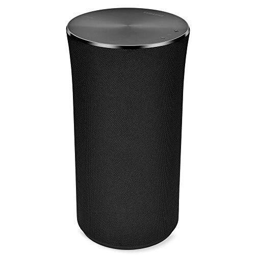 Samsung Radiant360 R1 Wi-Fi/Bluetooth Speaker WAM1500/ZA - Black (Renewed)