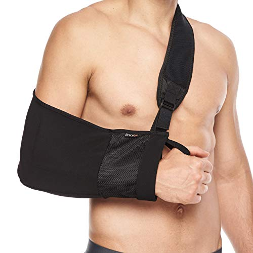 BraceUP Arm Sling Adjustable Arm Support for Broken Fractured Arm and Elbow