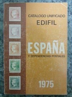 CATALOGO UNIFICADO ESPAÑA Y DEPENDENCIAS POSTALES 1975: Amazon.es ...