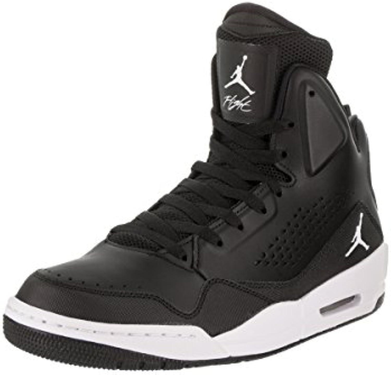 Jordan Mens SC-3 Black White Leather Trainers 42.5 EU B075XRQP7R Parent Parent B075XRQP7R 13be2f