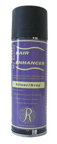 12 Pack My Secret Hair Enhancer Spray 5oz Silver Gray with 2 FREE Travel Shampoo 2oz a $10 Value by My Secret