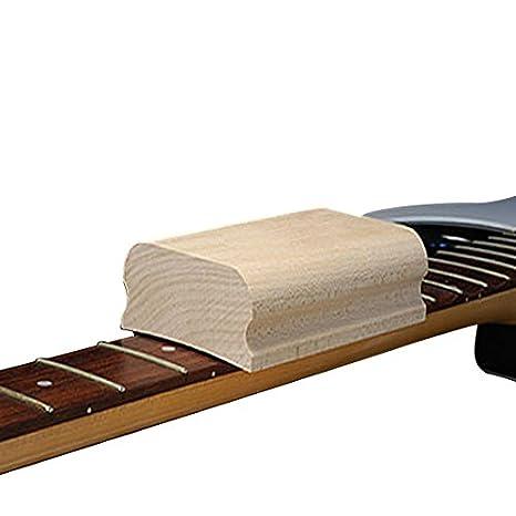 Guitarra Diapasón Traste de nivelación, Radio lijado bloque: Amazon.es: Instrumentos musicales