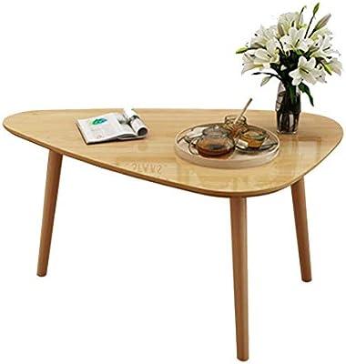 Amazon.com: Mesa auxiliar Tingting de madera maciza pequeña ...
