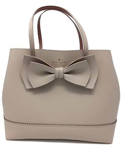 Kate Spade New York VANDERBILT PLACE SMALL GIORGIA TOTE LEATHER HANDBAG - Nut Rose