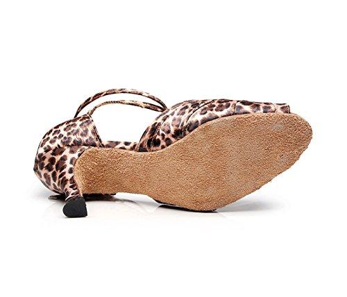 Tacones Jazz Baile heeled7 Sandalias Mujer EU39 Tango Latino De Chacha UK6 Para Moderno Altos Salsa JSHOE Our40 5cm Samba A Zapatos 7nPBOxqa