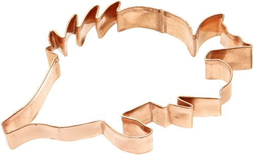 Old River Road Tropical Fish Shape Cookie Cutter, Copper
